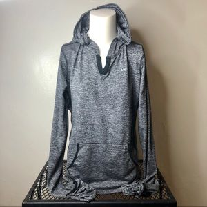 Nike Sweatshirt/Hoodie Gray Size M